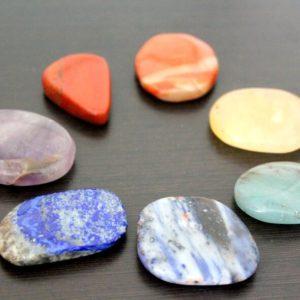 Piedras de Masaje por chakras